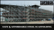 Complete Scaffold Solutions – Topdeck Scaffolding